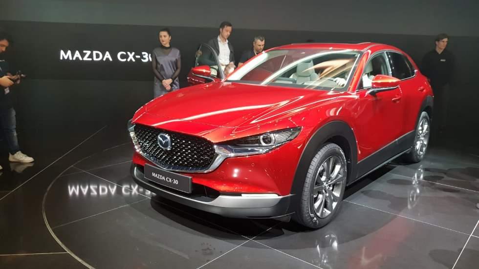 Mazda CX-30: así es el nuevo SUV con tecnología del Mazda3 2019