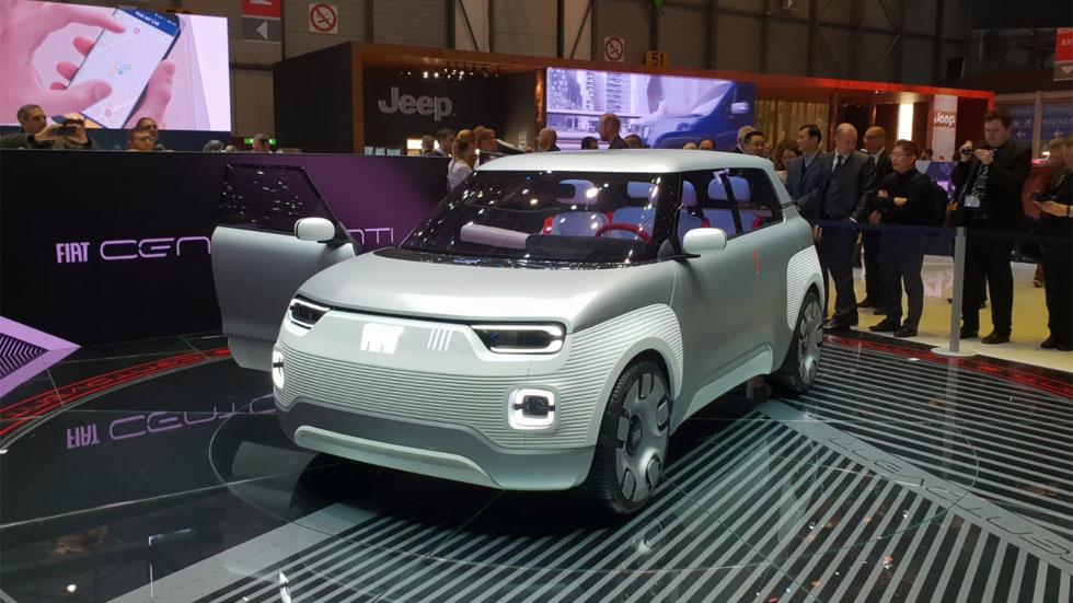 Fiat Concept Centoventi, el urbano eléctrico modulable del futuro