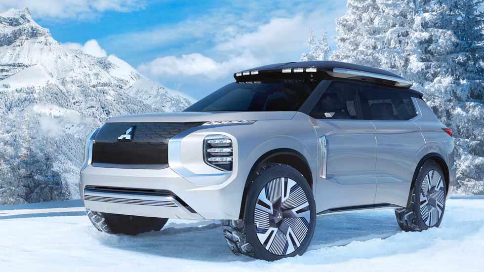 Mitsubishi Engelberg Tourer: un SUV híbrido enchufable que ¡suministra electricidad al hogar!