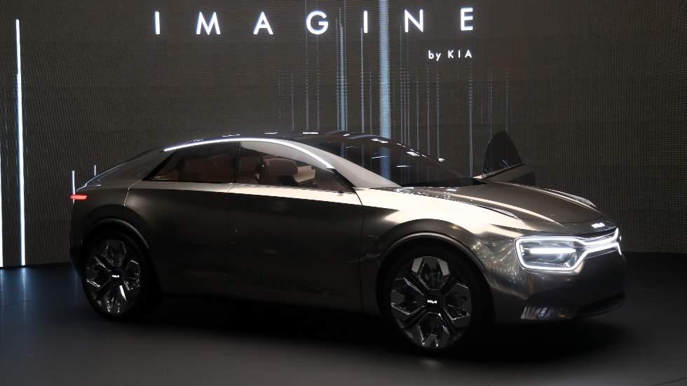 Imagine by Kia, un concept-car eléctrico y espectacular para el futuro