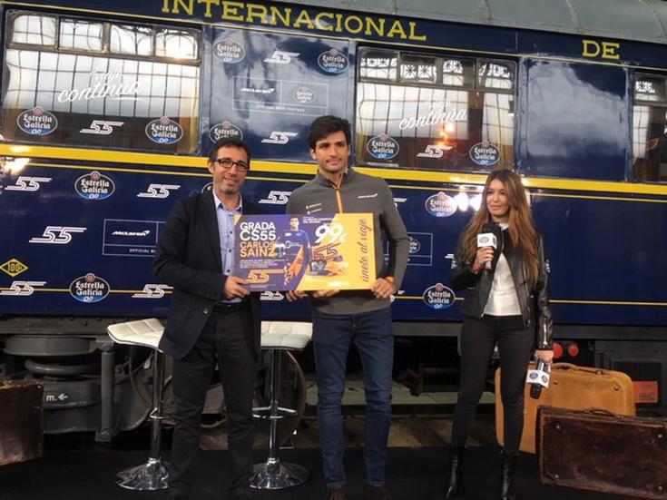 Fórmula 1: Sainz y Estrella Galicia 0,0 ponen a la venta 1.600 entradas a solo 99 euros para el GP de España