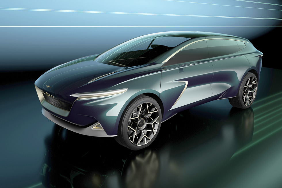 Lagonda All-Terrain Concept: el SUV de lujo del futuro, ya presentado