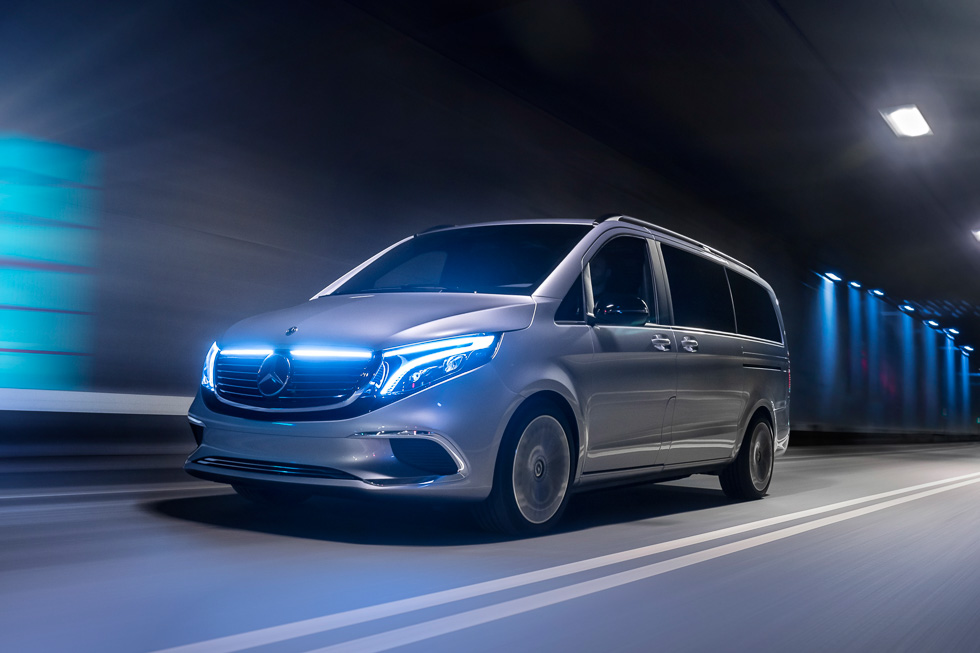 Mercedes-Benz Concept EQV: así es la gran furgoneta eléctrica