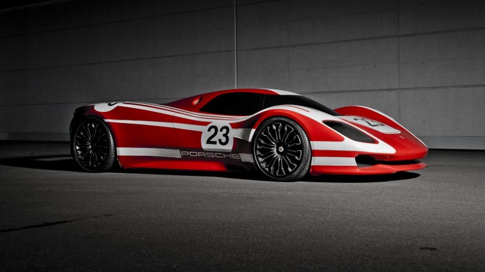 Homenaje al Porsche 917 y a su primera victoria en Le Mans