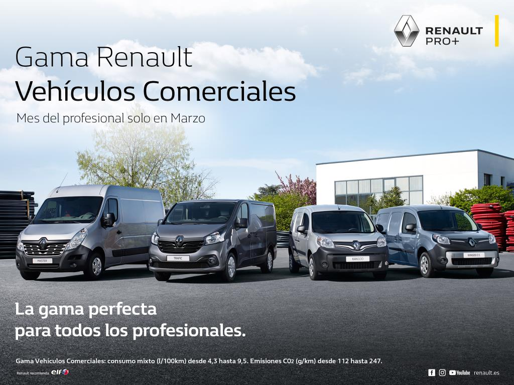 """Renault lanza el """"Mes del Profesional"""": Te ofrecemos todos los detalles"""