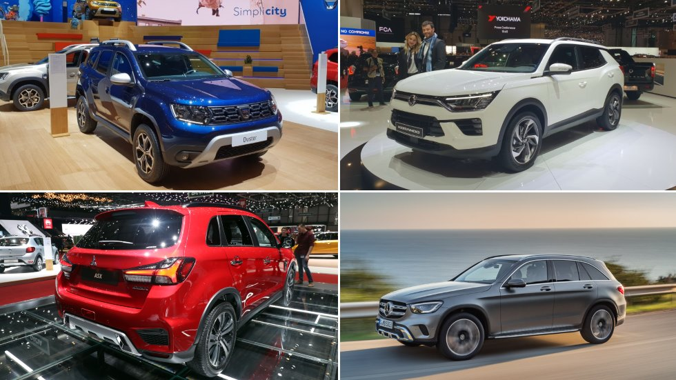 Los 5 SUV que se renuevan en este 2019 para ser aún más interesantes