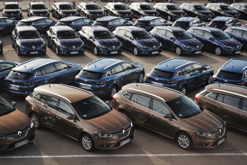 Los 10 coches de renting más demandados en España
