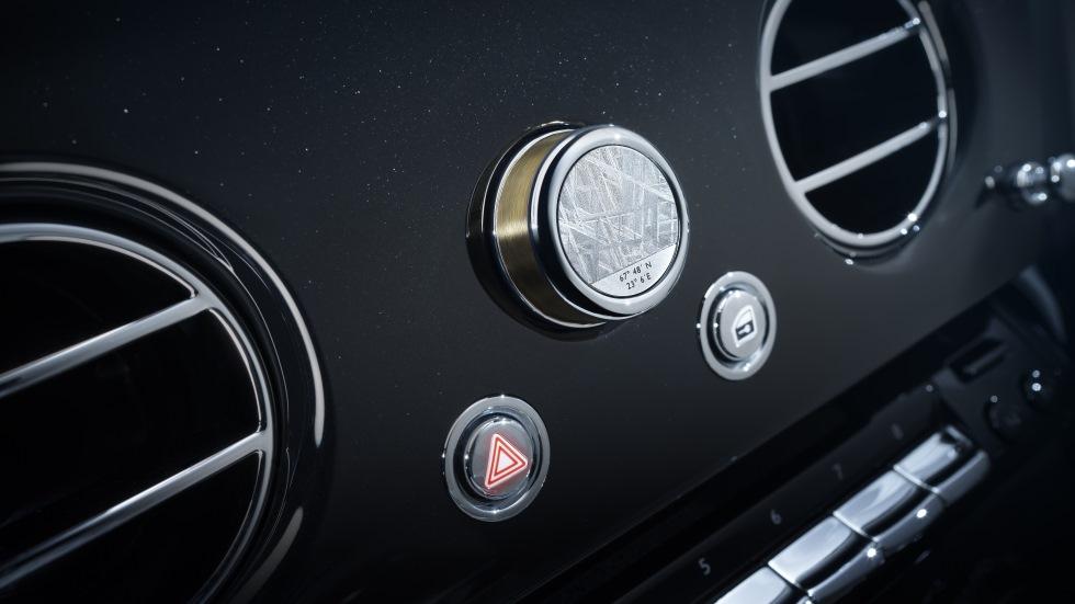 Rolls-Royce Phantom Tranquillity: un meteorito (real) para astros de este planeta