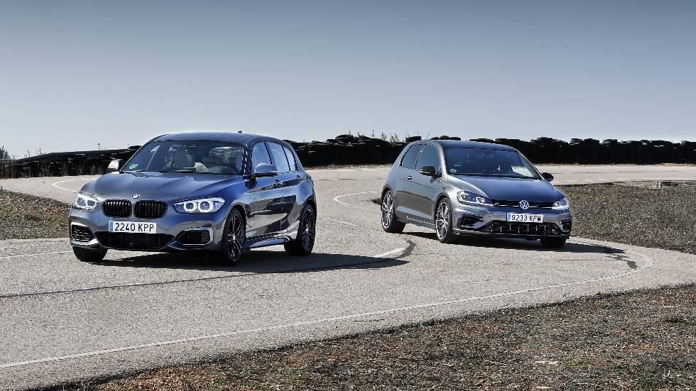 BMW M140i vs VW Golf R: ¿cuál es el mejor compacto deportivo?