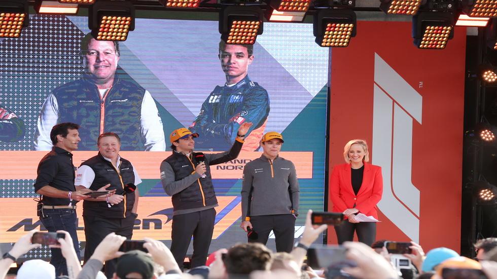 GP de Australia de F1: ceremonia inaugural de la temporada 2019