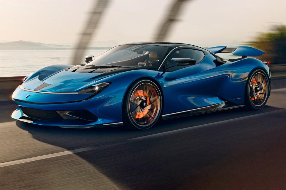 Pininfarina Battista: un súper eléctrico de 1.900 CV y dos millones de euros