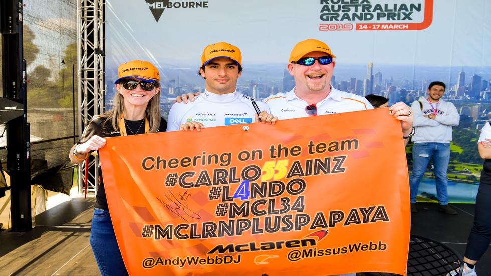 GP de Australia de F1: Sainz afronta su primer GP con McLaren