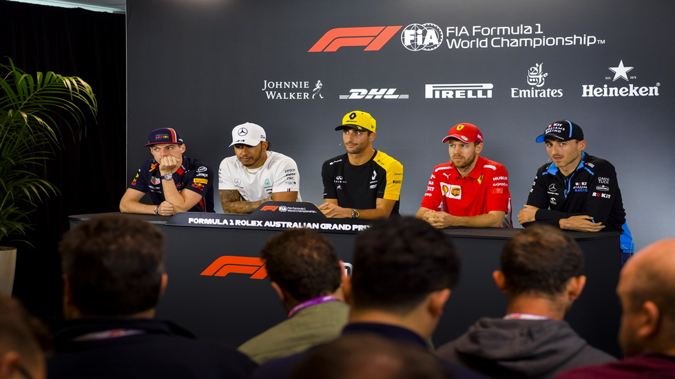 GP de Australia de F1: rueda de prensa de los pilotos