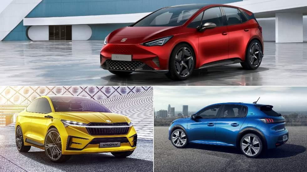 Los coches con más impacto del Salón de Ginebra: del Seat El-Born al Peugeot 208