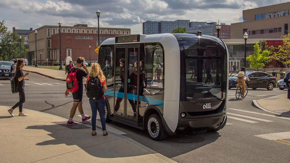 Olli: datos, fotos y vídeo del transporte autónomo para 8 pasajeros que ya rueda