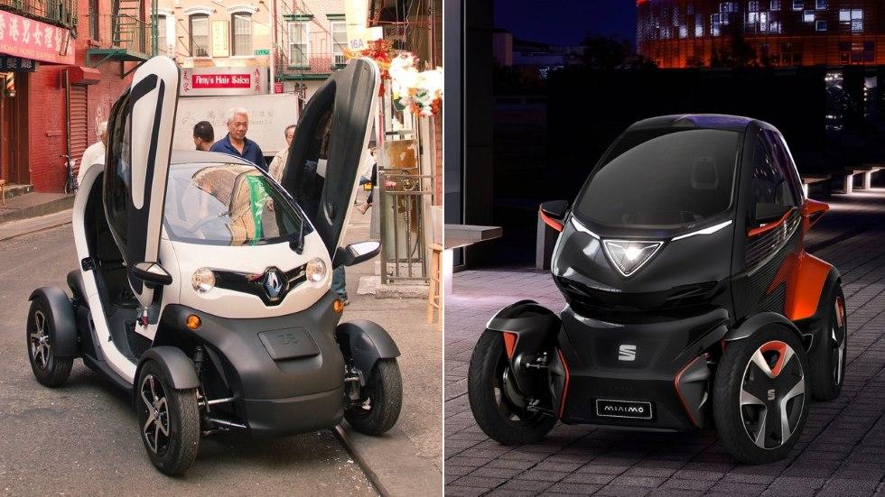 Seat Minimó vs Renault Twizy: ¿el gran duelo de la nueva movilidad urbana?