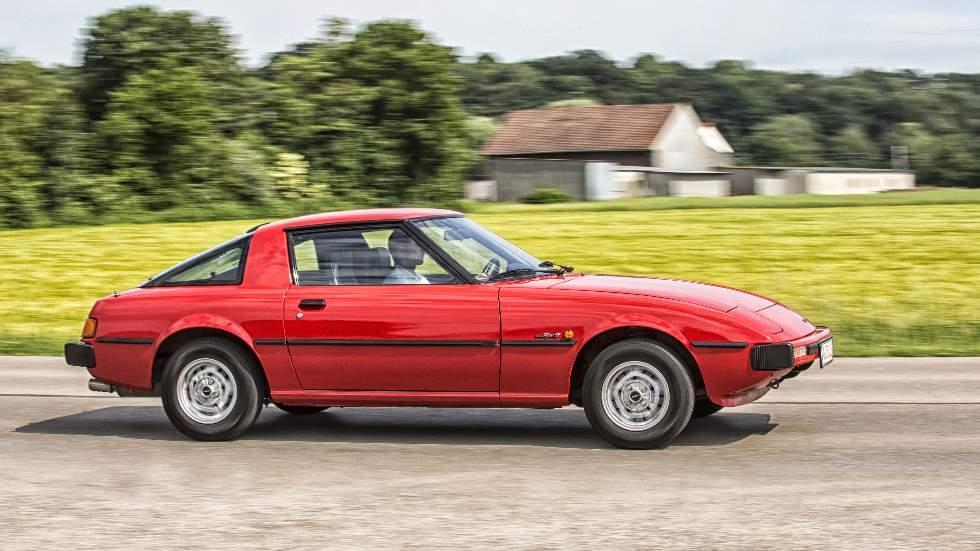 Mazda RX-7 (1978): a prueba la primera generación del deportivo de motor rotativo