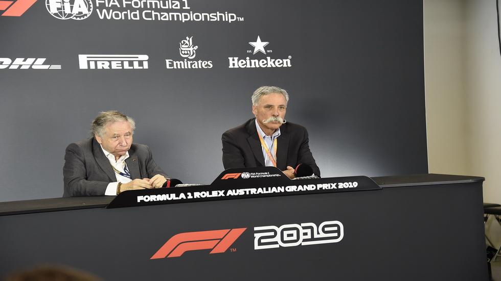 Fórmula 1: rueda de prensa de Todt y Carey