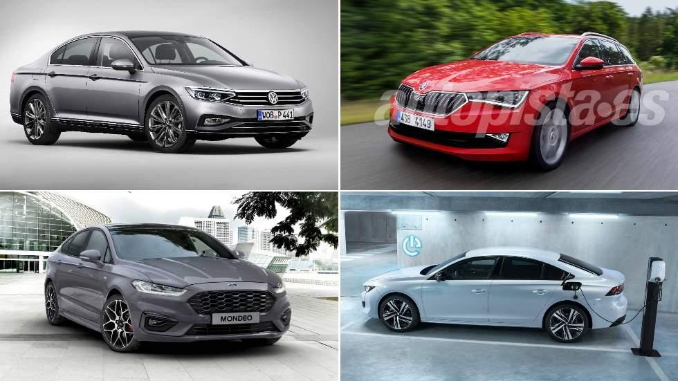 Las 10 mejores berlinas que llegan en 2019: Mondeo, Passat, 508 Hybrid, Superb…