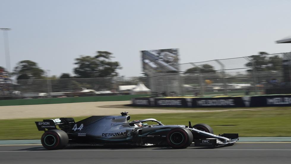 GP de Australia de F1 (FP3): y otra vez Lewis Hamilton