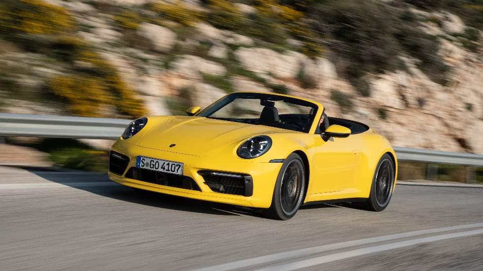 porsche 911 cabriolet 2019 a prueba el nuevo deportivo descapotable pruebas de coches. Black Bedroom Furniture Sets. Home Design Ideas
