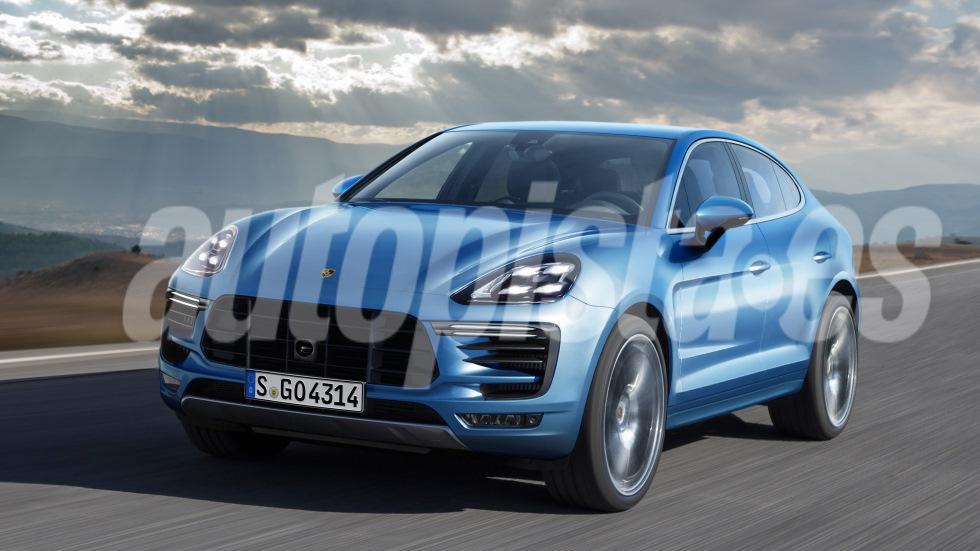 Porsche Cayenne Coupé: nuevos datos del SUV que llegará en otoño