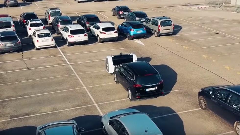 Así funciona el robot que ya aparca coches: es más barato y rápido (VÍDEO)