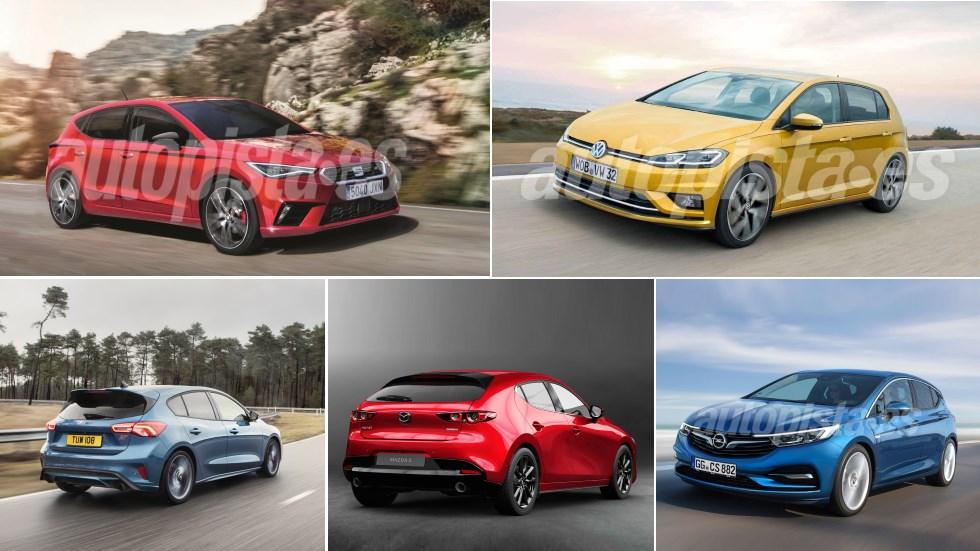 Todos los nuevos compactos que llegan al mercado en 2019, marca a marca