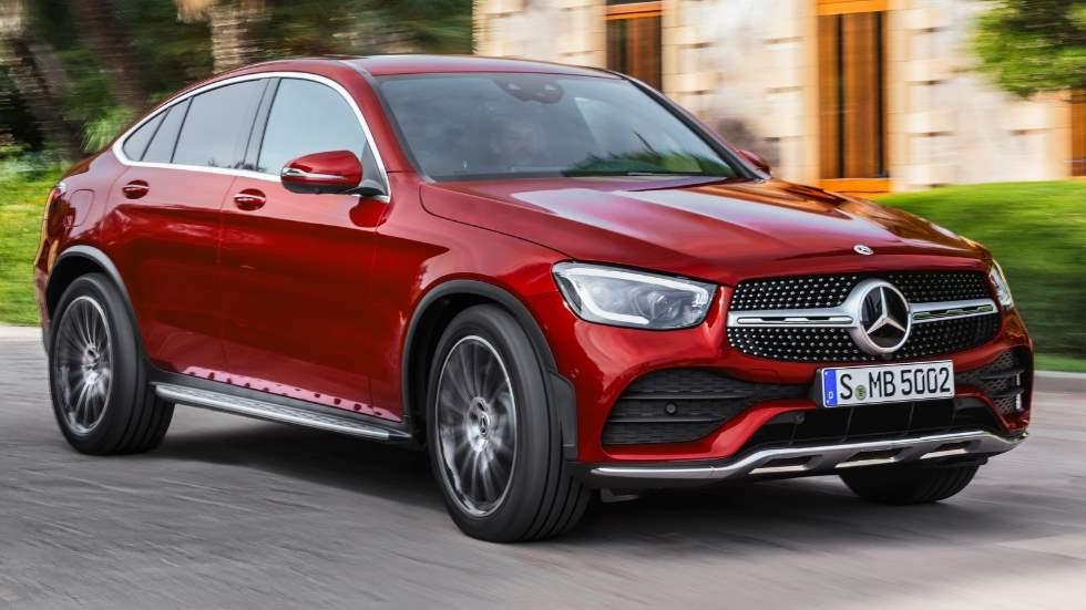 Mercedes GLC Coupé 2019: todos los datos y fotos del nuevo SUV