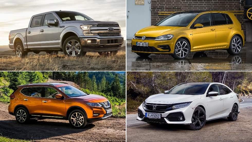 Los coches y SUV más vendidos en el mundo