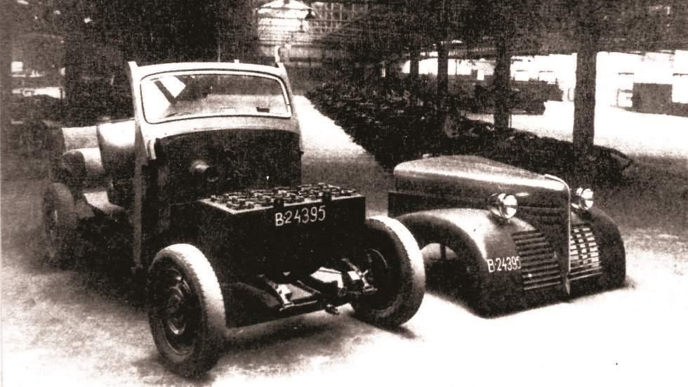 Los coches eléctricos que aparecieron en España después de la Guerra Civil