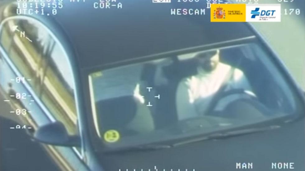 Control del uso del cinturón de la DGT: más de 4.000 personas no lo llevaban puesto (vídeos)