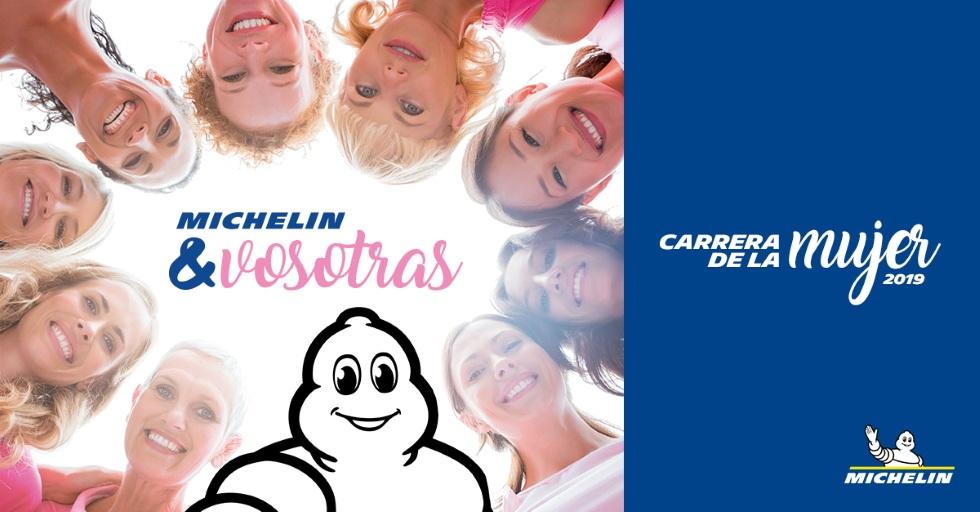 Michelin patrocina la Carrera de la Mujer
