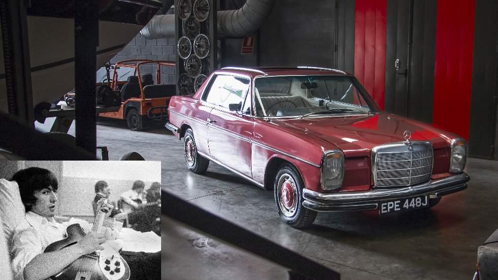 Mercedes 250 CE: ¿el coche favorito del ex Beatle George Harrison?