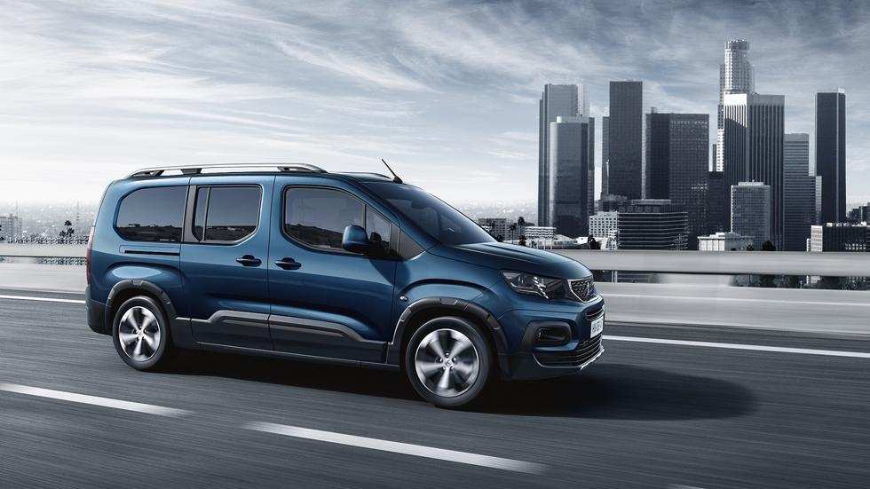 Peugeot Rifter Long, siete plazas para una furgoneta de estética SUV (Vídeo)