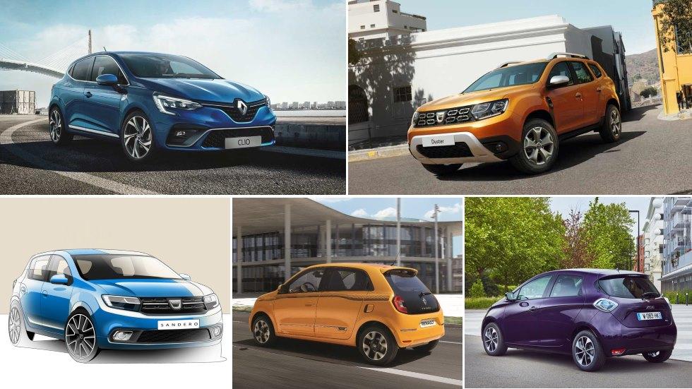 Todos los nuevos Renault y Dacia para 2019: Clio, Captur, Duster, Sandero…