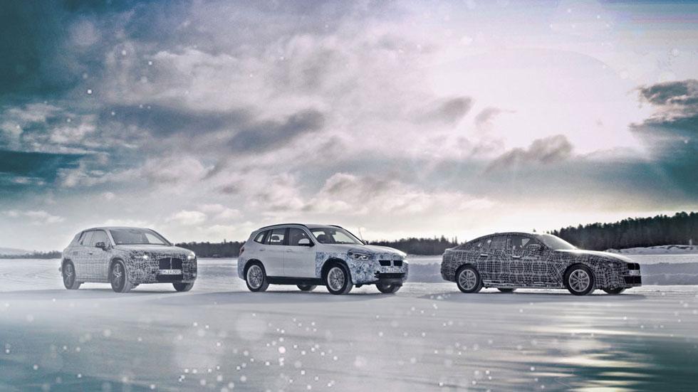 BMW iX3, i4 e iNext: los nuevos coches eléctricos de BMW, ya en pruebas