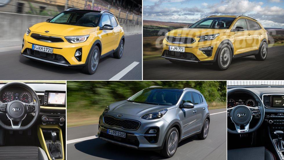Kia Stonic, XCeed y Sportage: claves y diferencias entre los tres SUV