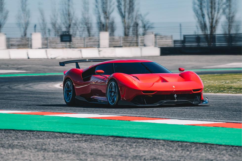 Ferrari P80/C: así es el nuevo encargo muy especial de un coleccionista de Ferrari