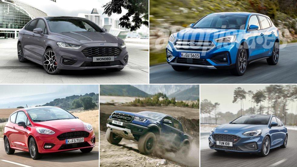 Todos los nuevos Ford para 2019: Mondeo, Kuga, Focus ST, Puma, micro-híbridos…