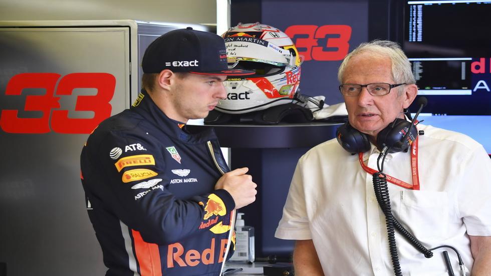 """GP de Baréin de F1: Helmut Marko es el mejor """"embajador"""" de Honda"""