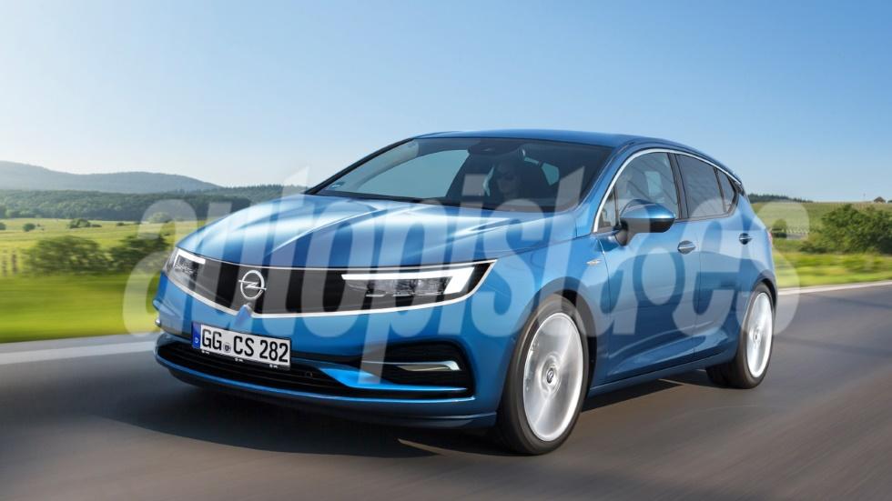 Opel Astra 2021: así será el nuevo compacto, ya con base de Peugeot 308 y 3008
