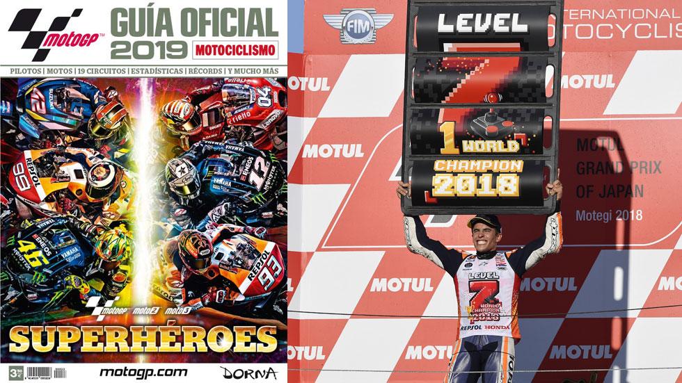 Guía Oficial MotoGP 2019, ya a la venta