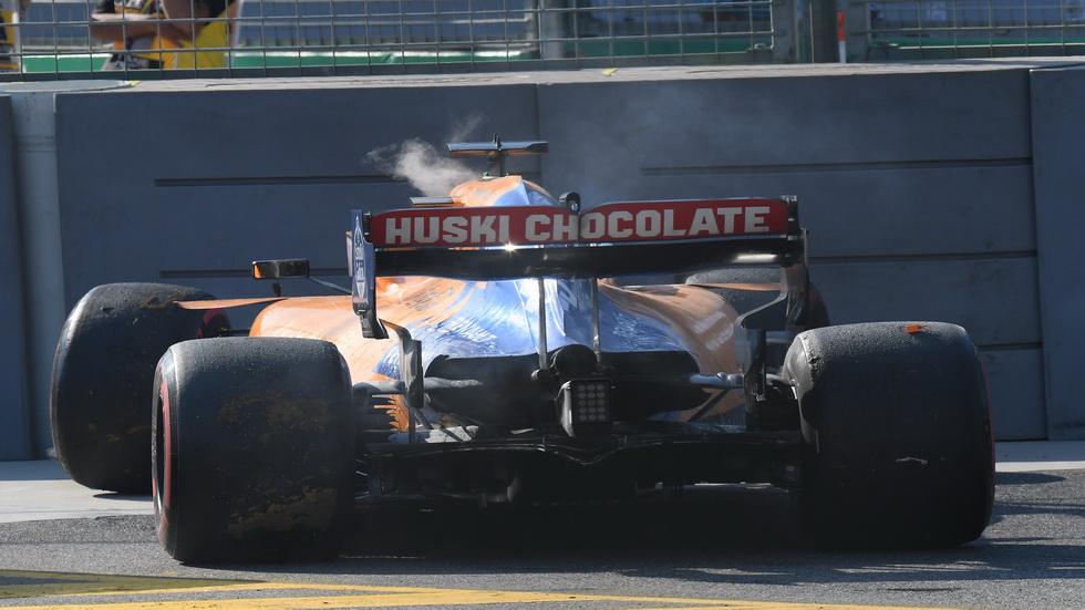 GP de Baréin de F1: a Sainz le cambian varios elementos de la unidad de potencia