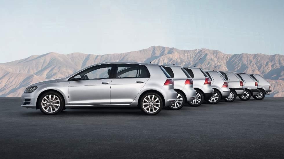 El VW Golf cumple 45 años: datos y fotos de un mito de la carretera