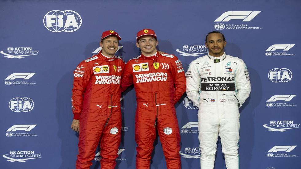 GP de Baréin de F1: así queda la parrilla de salida