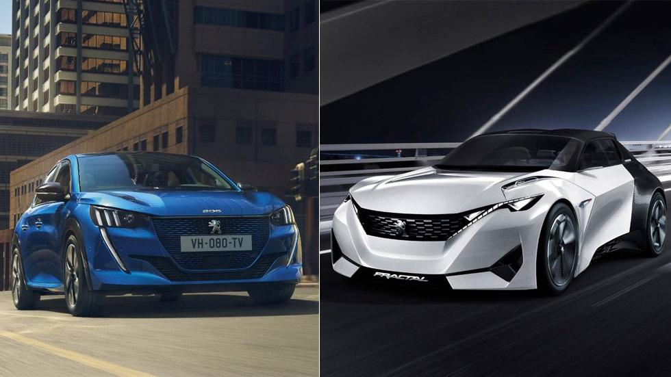 Peugeot 208 2019: cómo un coche de serie deriva de un concepto, el Fractal (Vídeo)