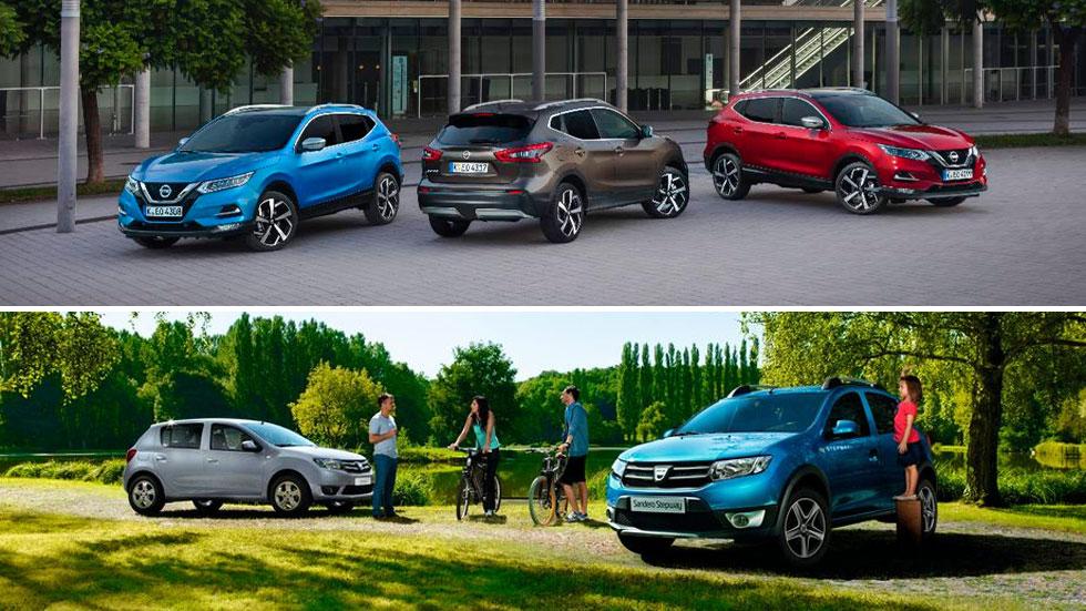 Los 10 coches y los 10 SUV más vendidos en España (y cómo están las ventas)