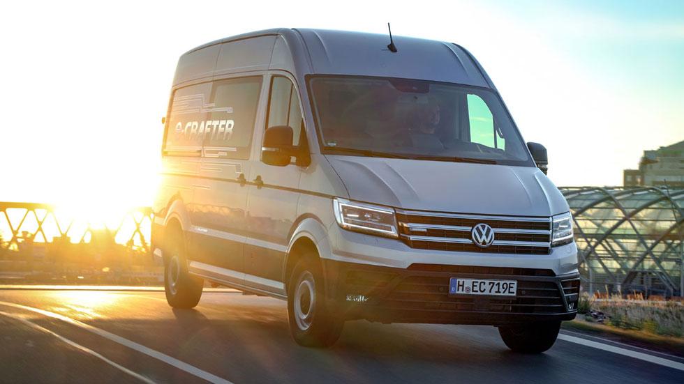 VW e-Crafter: datos y fotos del primer vehículo comercial 100% eléctrico de Volkswagen
