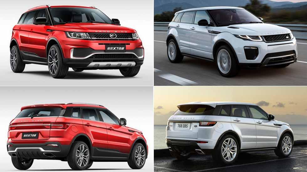 El Range Rover Evoque gana la batalla legal contra su copia china: esto es lo que pasará…